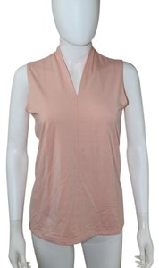 Talbots Sleeveless T Shirt Peach