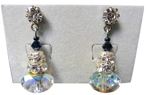 Giavan Giavan HOL506ESM- (e-21) Swarovski Iridescent Stacked Briolette Earrings -
