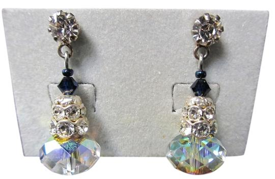 Giavan Giavan HOL506ESM- (e-21) Swarovski Iridescent Stacked Briolette Earrings - Image 0