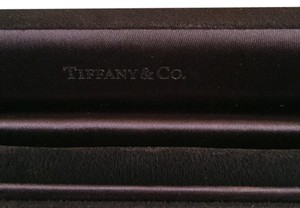 Tiffany & Co. Tiffany & Co - Dark Blue Suede BRACELET Box with Robin Blue Outer Boxes