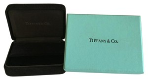 Tiffany & Co. Tiffany & Co - Dark Blue Suede Earrings Box with Robin Blue Outer Boxes