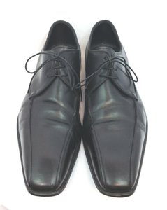 Hugo Boss Boss Lace Up Oxford Leather Black Shoes 9.5