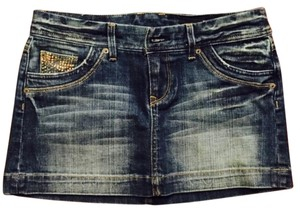 Express Denim Mini Skirt Jean