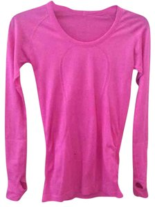 Lululemon EUC Lululemon Long Sleeve Pink Sz 6