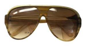 Balenciaga Balenciaga Gold Aviator Large Oversized Sunglasses