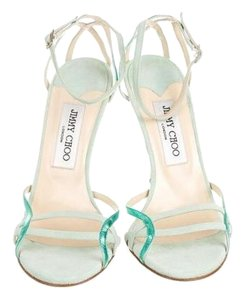 Jimmy Choo Mint Suede Mint Green Formal