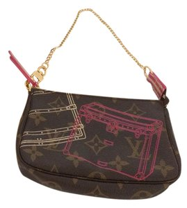 Louis Vuitton Mini Pochette Evasion Wristlet in Monogram