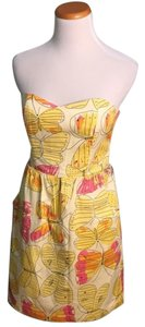 JB by Julie Brown short dress Yellow on Tradesy