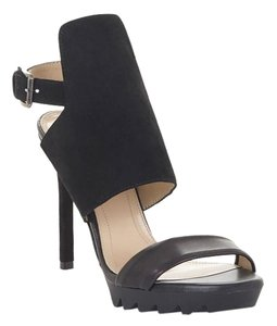 BCBGMAXAZRIA Sandals Black Platforms