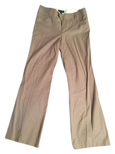 Banana Republic Boot Cut Pants Tan