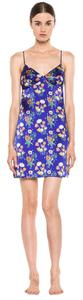 Stella McCartney short dress Satin Slip Chemise Floral on Tradesy