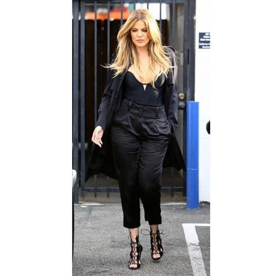Gianvito Rossi Leather Cutout Kardashian High black Pumps Image 10