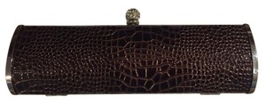 Mad Bags Crochet Evening Brown Clutch