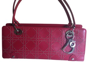Dior Studded Leather Shoulder Bag