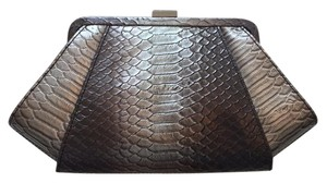 Zac Posen Gray-sliver Clutch