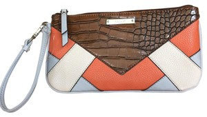 Nine West Wristlet in Orange Multi
