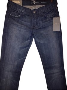 7 For All Mankind Bootcut Straight Leg Jeans-Light Wash