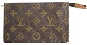 Louis Vuitton Monogram Brown Cosmetic Travel Pouch LVTY10