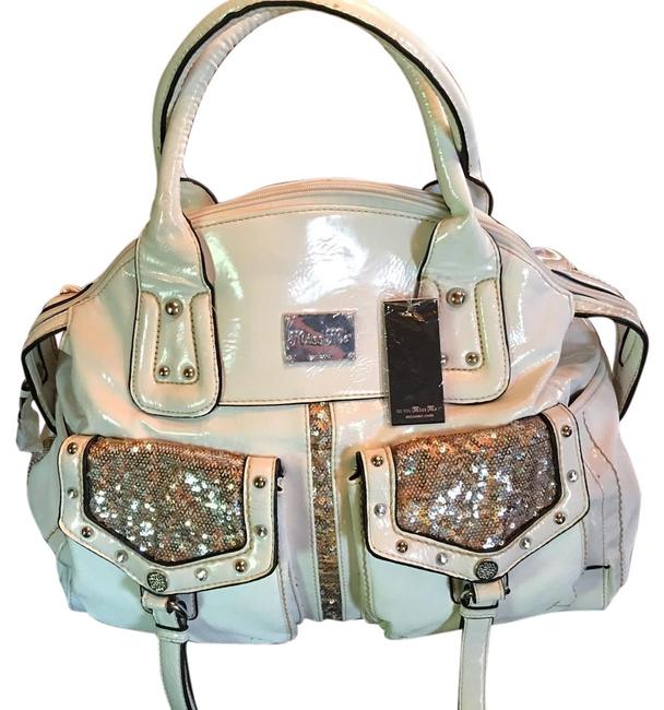 Item - Style: Mm641-wht-belk White Patent Leather Tote