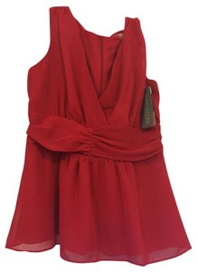 Eva Mendes New York & Company Tank Small Top Red