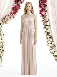After Six Blush Pink Lace 6734 Feminine Bridesmaid/Mob Dress Size 10 (M)