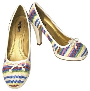 Kenneth Cole Heels Unlisted Design Padded 4 Inch Heel Rainbow Pumps