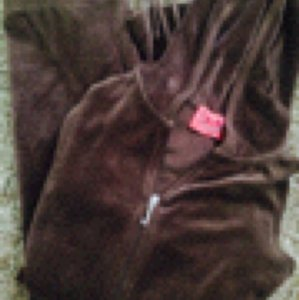 Juicy Couture Brown Pink and White with Silver Jacket
