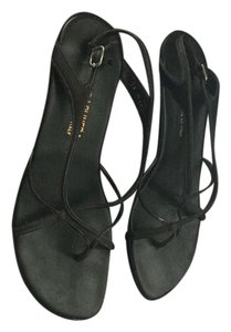 Donald J. Pliner Expresso Antique Brown with metallic touches Sandals