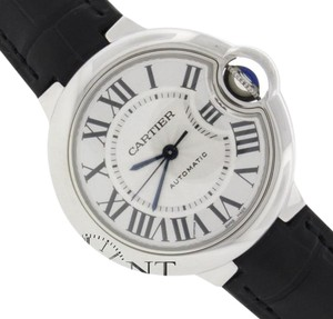 Cartier UNWORN Cartier Ballon Bleu 33MM Automatic Steel Watch W6920085 Box & Papers