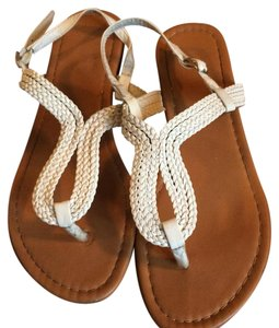Max Collection White Sandals