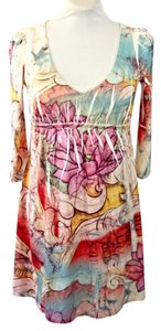 Justified short dress Multicolor Boho Pastel on Tradesy