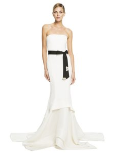 Donna Karan Donna Karan New York Embellished Strapless Gown Wedding Dress