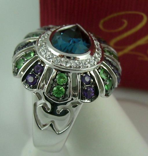 Yours By Loren Yours By Loren 5.04ct Multigemstone Sterling Silver