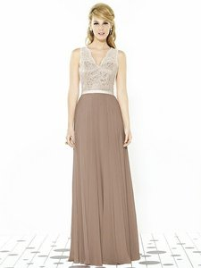 After Six Topaz With Ivory Lace 6715 Dress