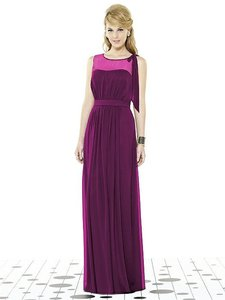 After Six 6714 Chiffon Modern Bridesmaid/Mob Dress Size 10 (M)