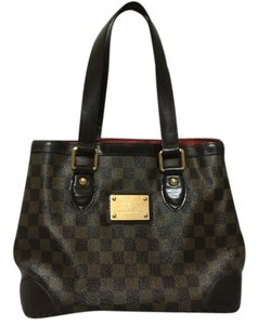 Louis Vuitton Vuittob Hampstead Pm Tote in Damier ebene