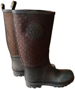 Etienne Aigner brown/forest green Boots