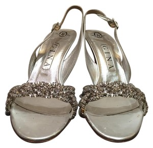Gina Peters Silver Sandals