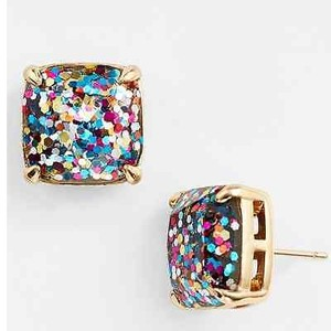 Kate Spade Kate Spade York Multi Glitter Stud Earrings In Box Sold Out Style