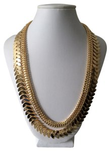 Other Gold Double chain necklace
