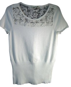 Cato Lace Top white