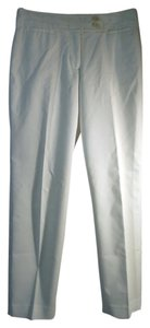 Talbots Pleated Capris white