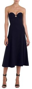 Navy Maxi Dress by ZIMMERMANN Tarot Crepe Strapless Midi