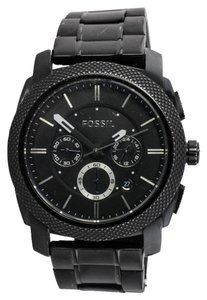Fossil * Fossil FS-4552 Black stainless Steel Chronograph Watch