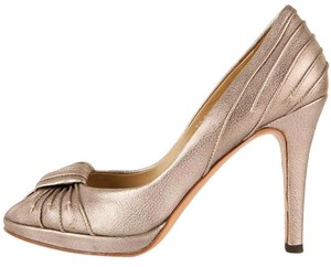Valentino Pewter Pumps