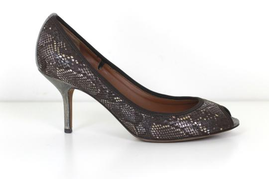 Donald J. Pliner Peep Toe Penny Lane Italy brown Pumps