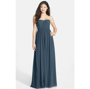 Jenny Yoo Shadow Gray Wren Convertible Tulle Fit And Flare