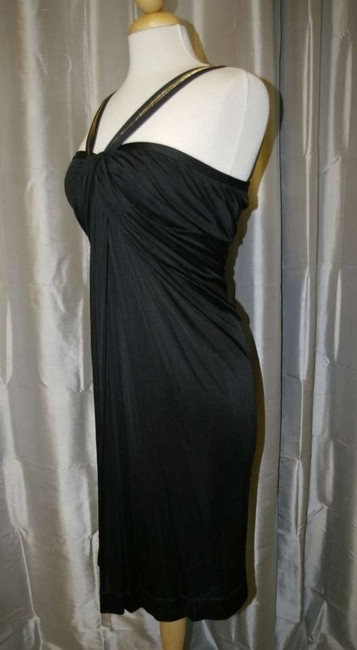 Gucci Lbd Draped Designer Dress