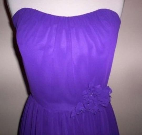 Alfred Angelo Viola Chiffon 7194 Formal Bridesmaid/Mob Dress Size 4 (S)