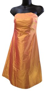 Aria Taffeta Strapless Dress